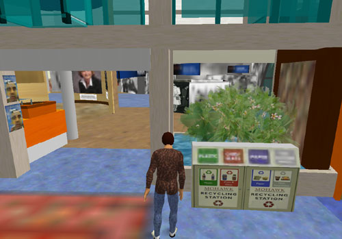 Virtual environmentalism at Mohawk College