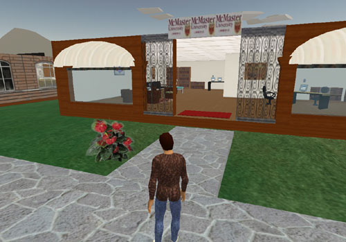McMaster Library in Second Life